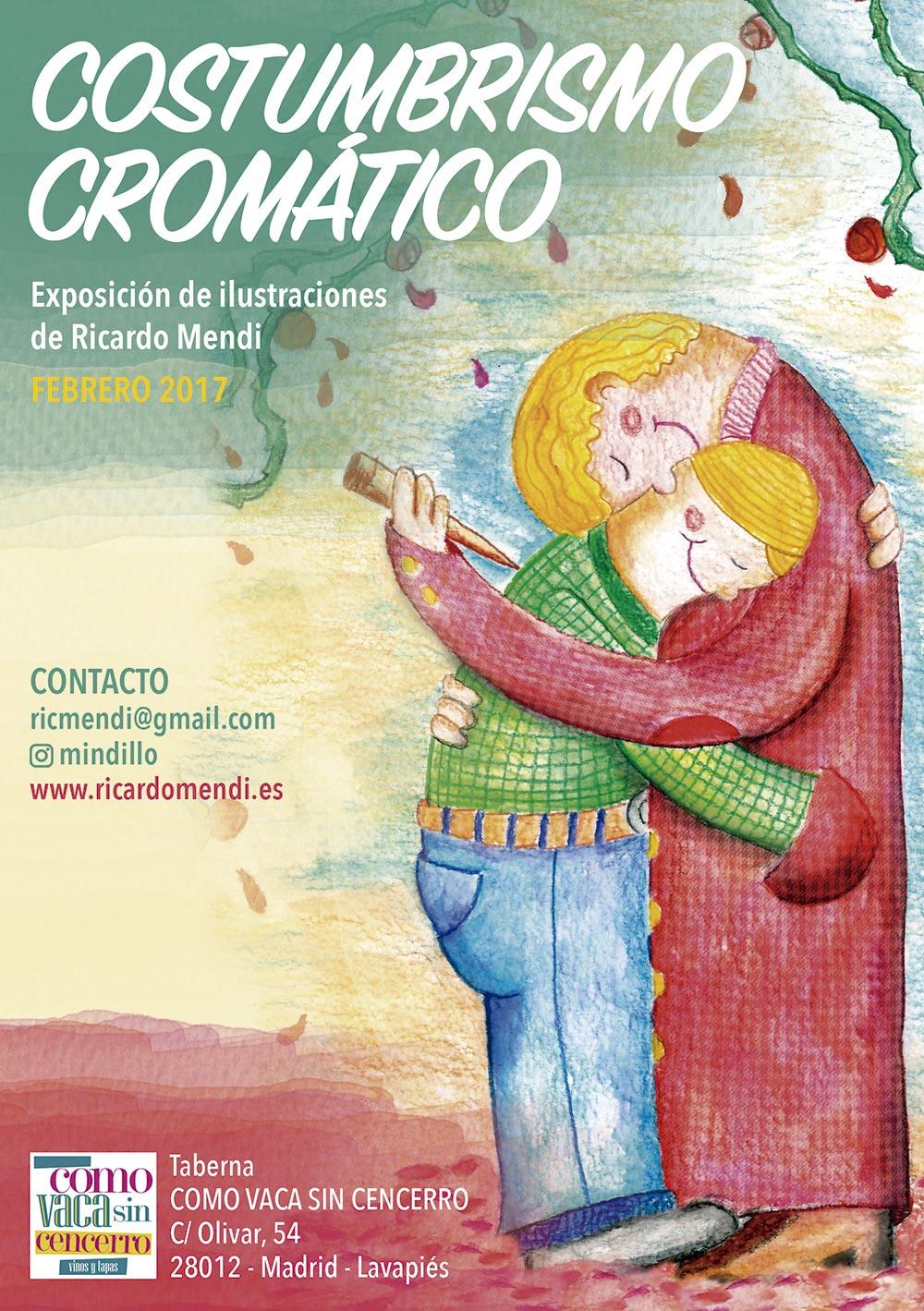 EXPOSICIÓN COSTUMBRISMO CROMÁTICO